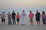 Sunset drinks on Cable Beach, Broome, WA, at the end of the 2011 Bash, in memory of Gary Ticehurst.